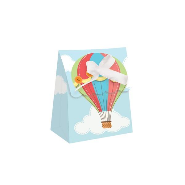 Partytüte Heißluftballon, 12 Stück