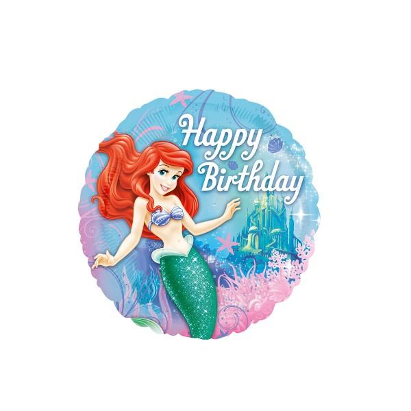 Folienballon Meerjungfrau Ariel