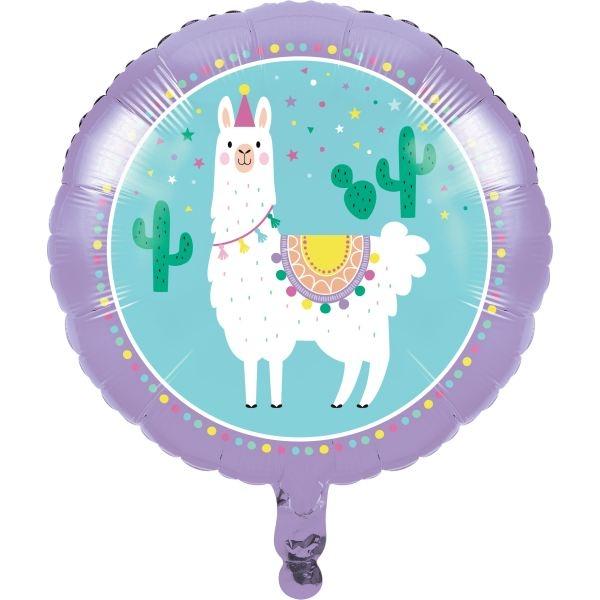 Folienballon Lama, 46 cm
