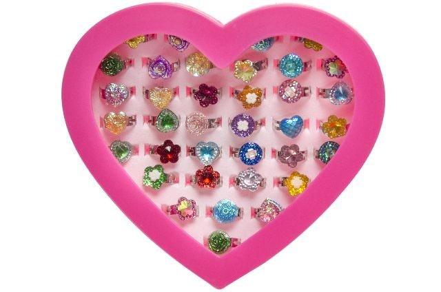 Ringe - Set in Herzschachtel