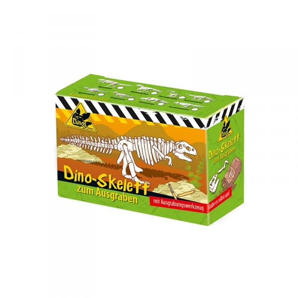 Dino Skelett zum Ausgraben, 1 Stück X X