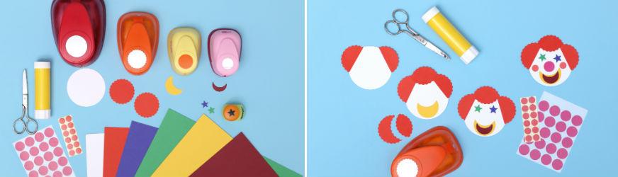 Schritt für Schritt zur Zirkus-Tischkarte. • Umsetzung und Fotos: Thordis Rüggeberg