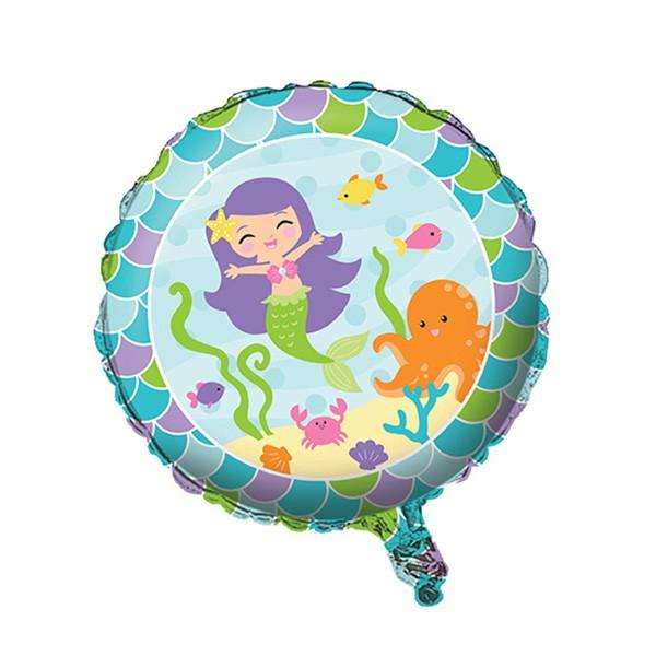 Folienballon-Meerjungfrau-46cm