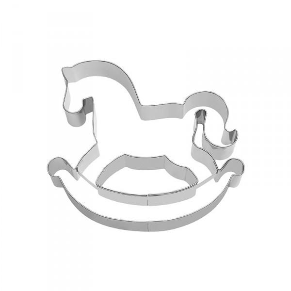 Ausstecher Schaukelpferd, 12cm