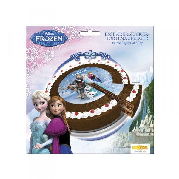 Zucker-Tortenaufleger Frozen, ø 16cm