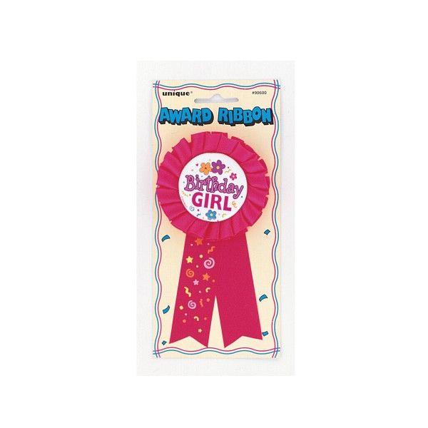 Schleife Birthday Girl