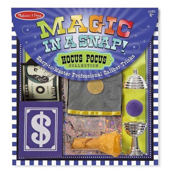 Zauber Set, Hokus-Pokus für kleine Zauberer, 12-teilig