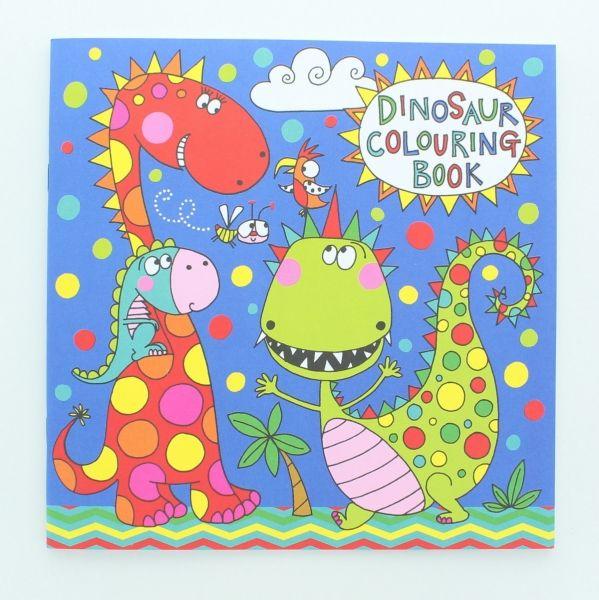 Malbuch Dino, 12 Seiten