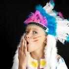 Kindergeburtstag-Indianer