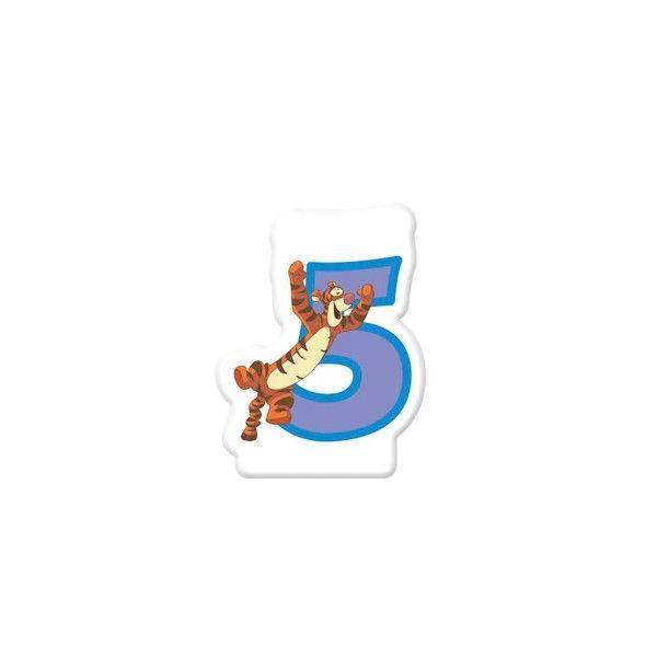 Zahlenkerze-5-Winnie-Pooh