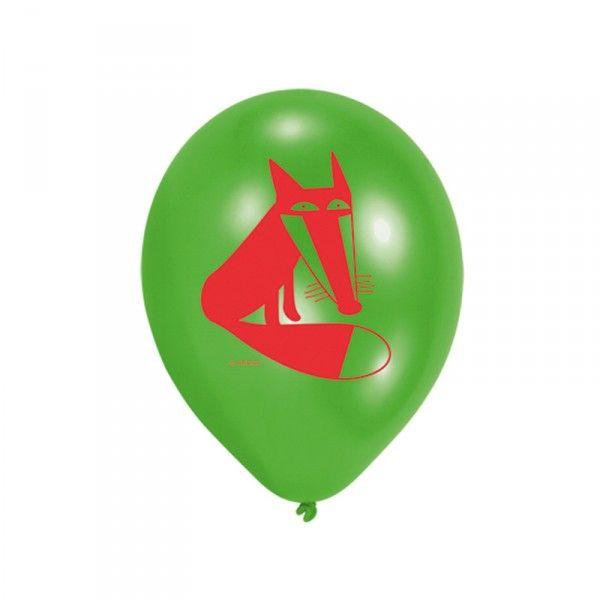 Luftballons Waldtiere, 6 Stück X