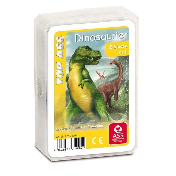 Kartenspiel Quartett Dinosaurier X