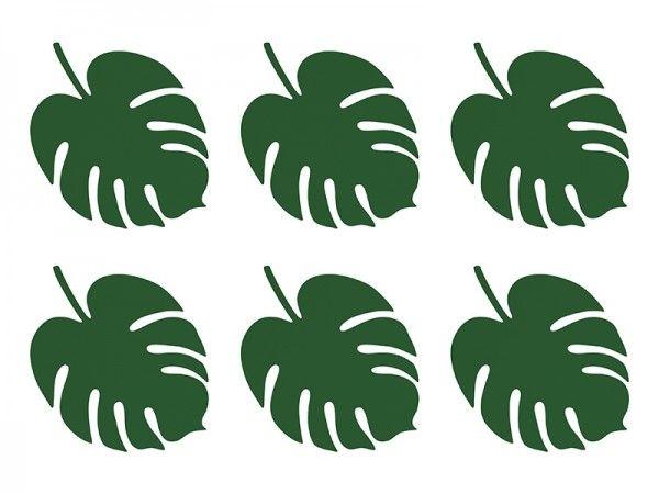 Platzkarten aus Papier, Hawaii, 6 Stück