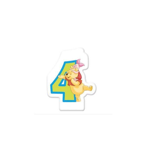 Zahlenkerze-4-Winnie-Pooh