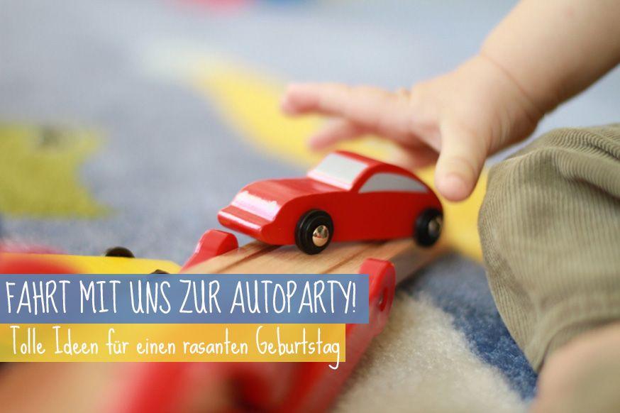 Rasante Tipps und Ideen für den Auto Kindergeburtstag. • Foto: sajola / photocase.de