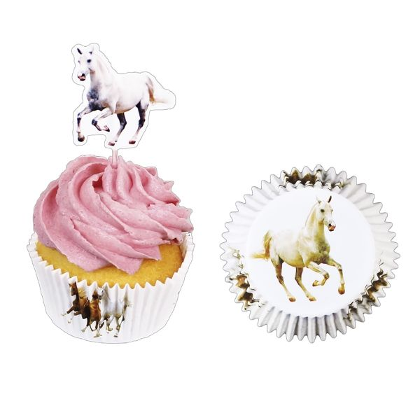 Muffin-Set Pferd 24-tlg. X