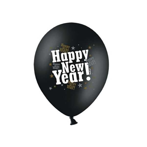 Luftballons Happy New Year
