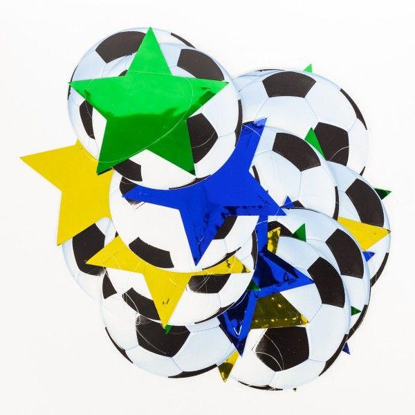 Hängedekoration Fußball, 2m, 6-teilig