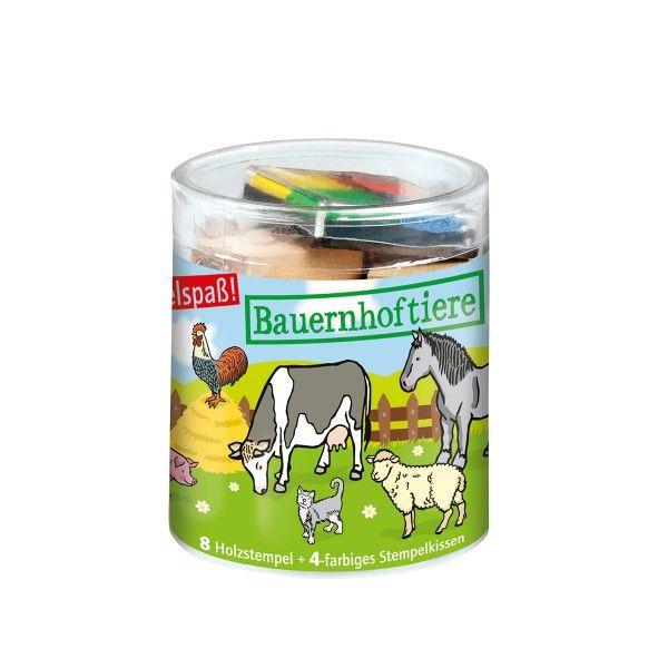 Stempel-Set Bauernhoftiere