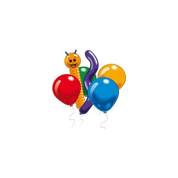 Luftballons, Bunt, 10 Stück sortiert