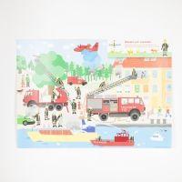 Tischsets Feuerwehr