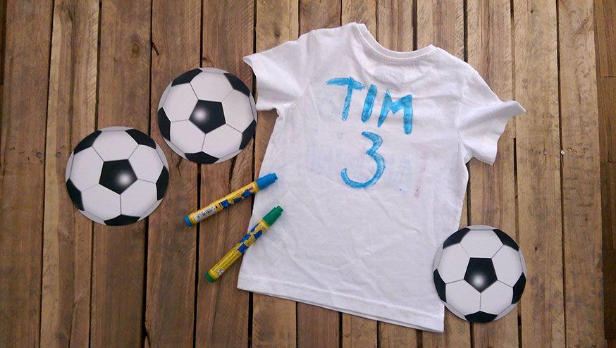 Der eigene Name auf dem Fußballtrikot? Auf dieser Party wird der Traum wahr.