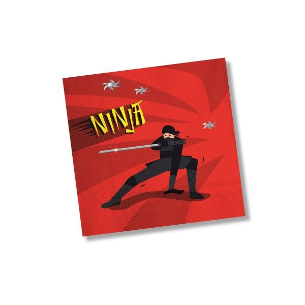 Servietten Ninja, 20 St