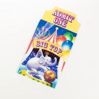Einladungskarten Zirkus