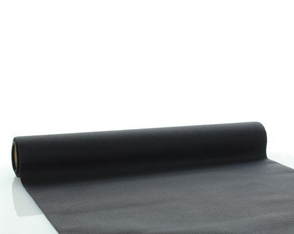 Tischläufer Schwarz, 40x480 cm, 1 Stück