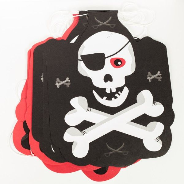Wimpelkette Pirat