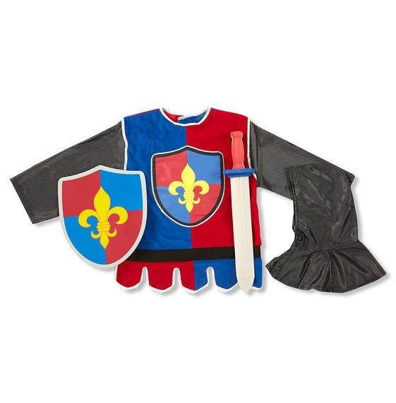 Kostüm Ritter, Alter 3-6 Jahre, 4-teilig