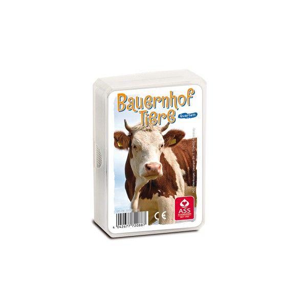 T1142497-Quartett-Bauernhof-Tiere