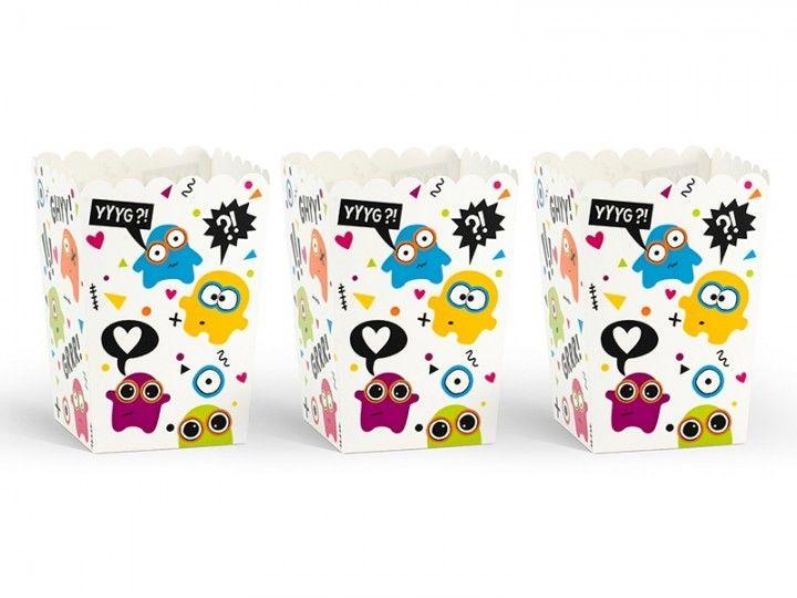 Snackboxen Monster, 6 Stück