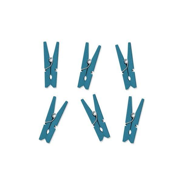 T1142519-Mini-Klammern-blau-10-Stueck