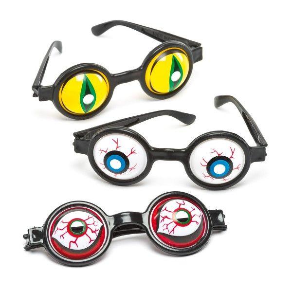 Brille mit Monster Augen, 5 Stück