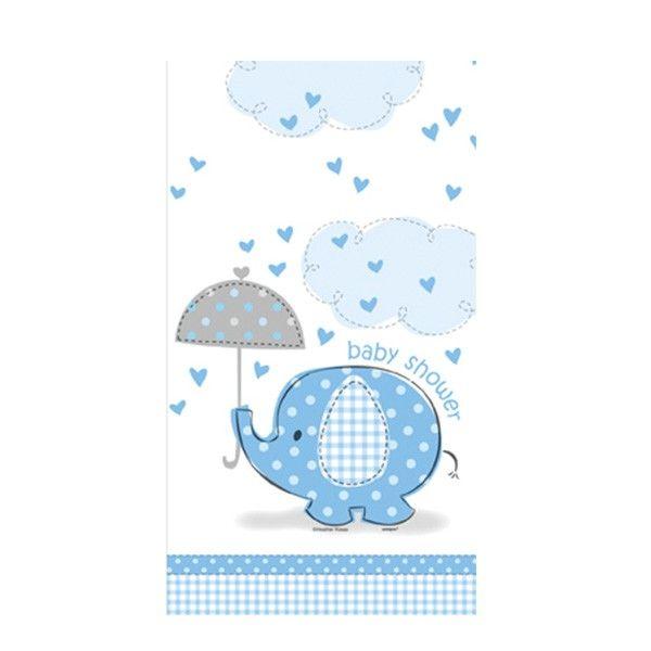Tischdecke Baby, blau, 137x213cm, 1 Stück