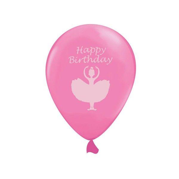Luftballons Ballerina, 30cm, 6 Stück