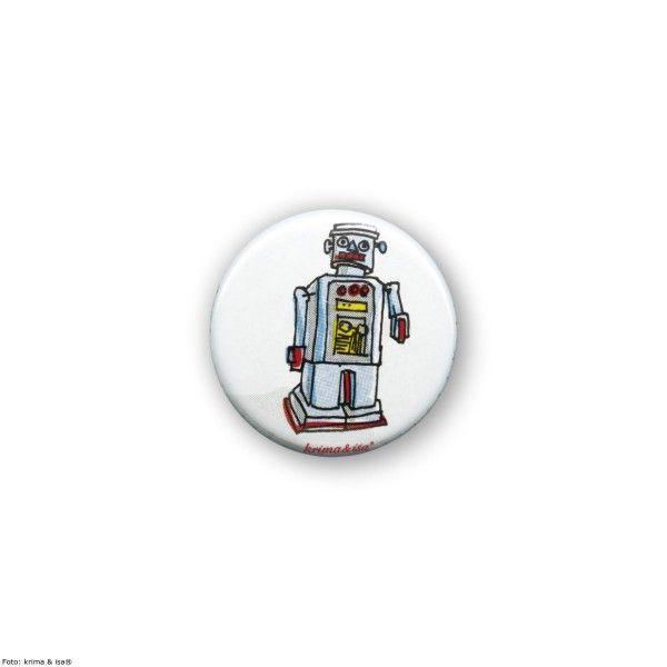 Button Roboter,
