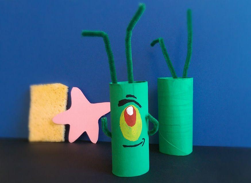 Plankton gehört nicht gerade zu den beliebtesten Bewohnern von Bikini Bottom, aber trotzdem darf er nicht auf der SpongeBob-Party fehlen!