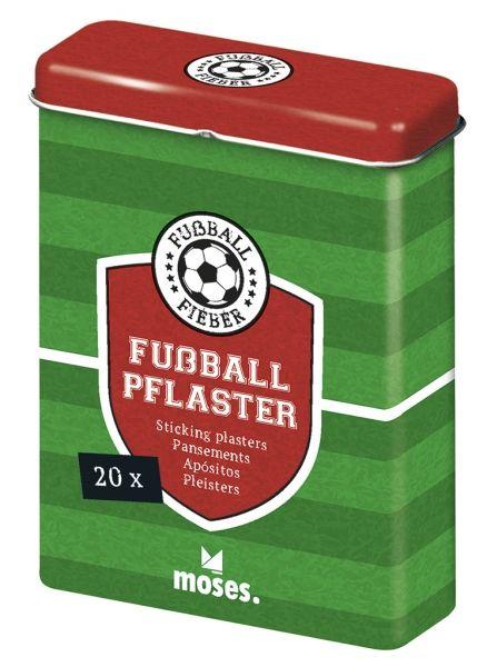 Pflaster Fussball - Box incl. 20 Stück