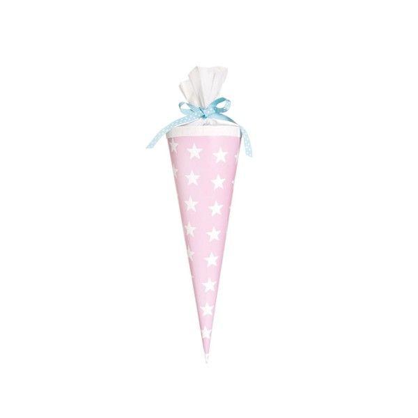 Schultuete-Sterne-rosa-35cm