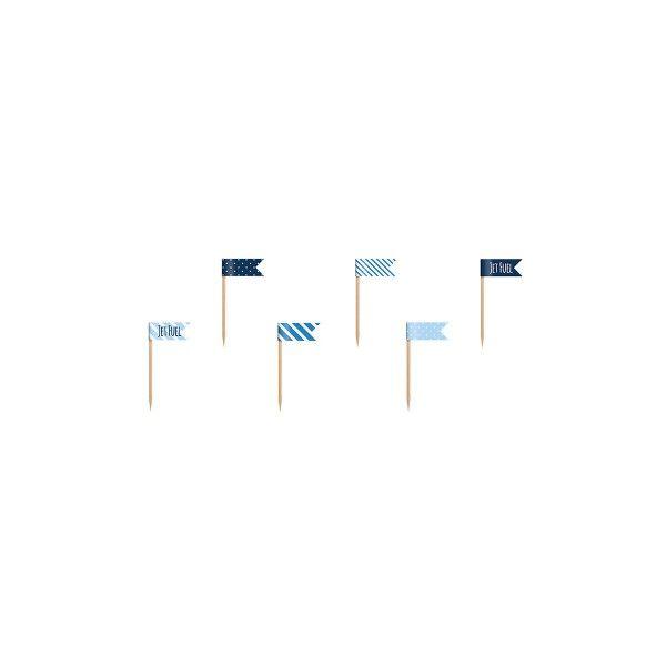 T1142535-Partypicker-blau-weiss-6-Stueck