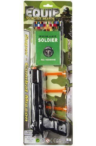 Armee Pistole mit drei Pfeilen, 4-teilig