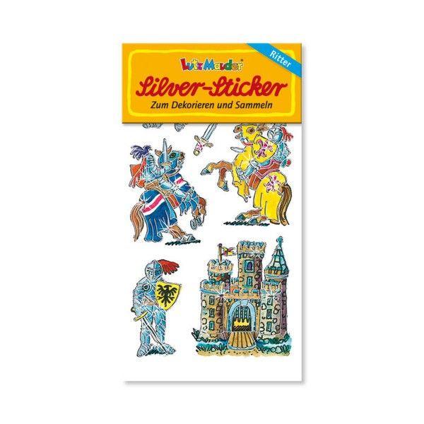 Silver Sticker Ritter