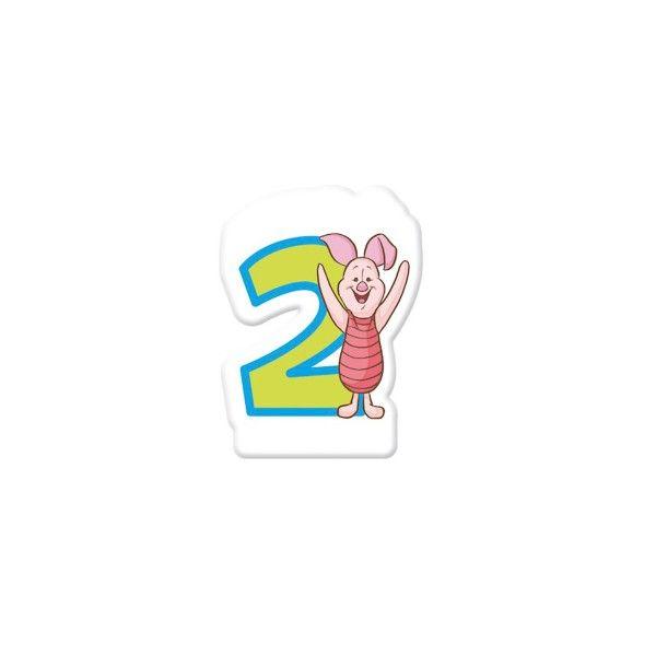 Zahlenkerze-2-Winnie-Pooh