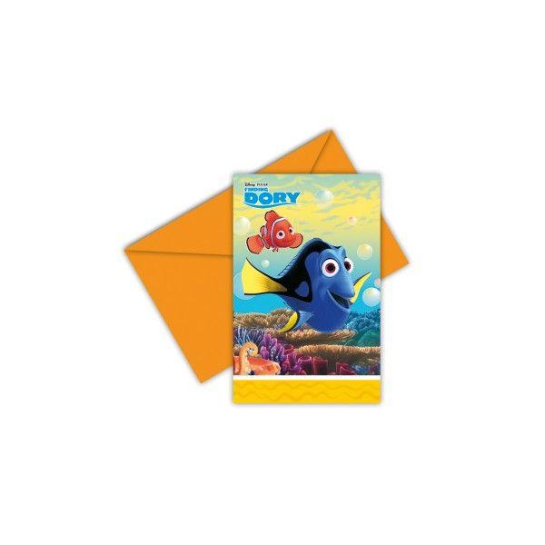 T1142384-Einladungskarten-Findet-Dory-6-Stueck
