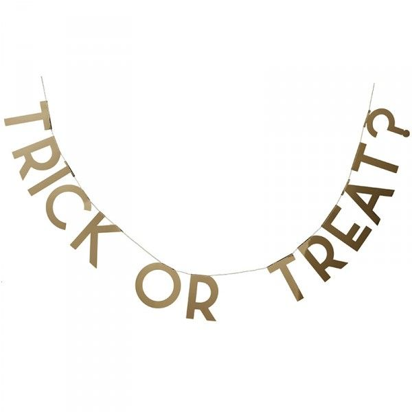 Girlande Halloween - Trick or Treat?, 2m, 1 Stück
