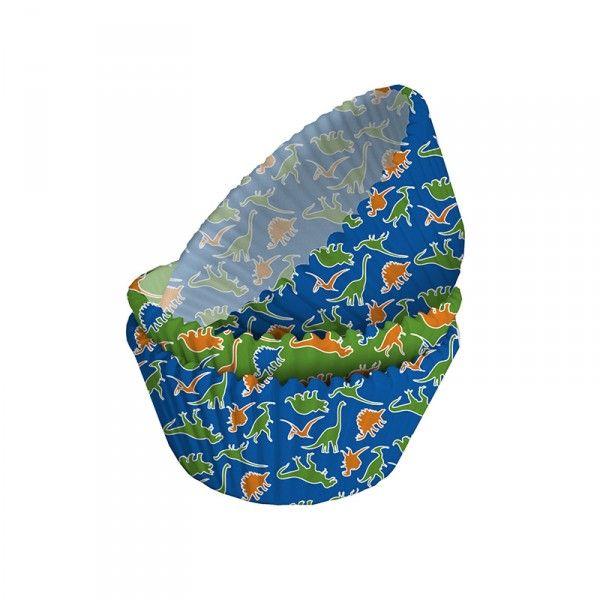 Muffinförmchen Dinosaurier, 75 Stück