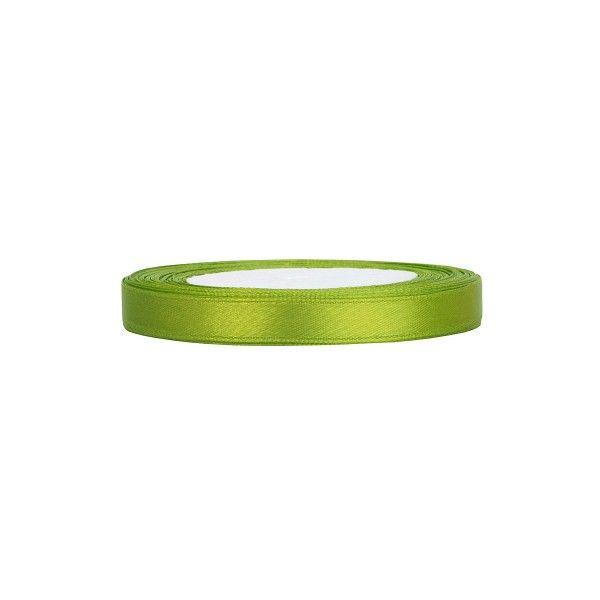 Satinband grün, 1 Rolle