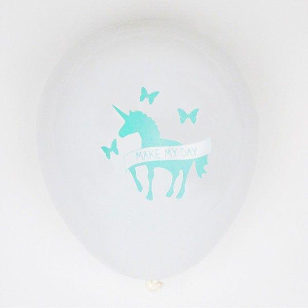 Luftballons Einhorn, 5 Stück